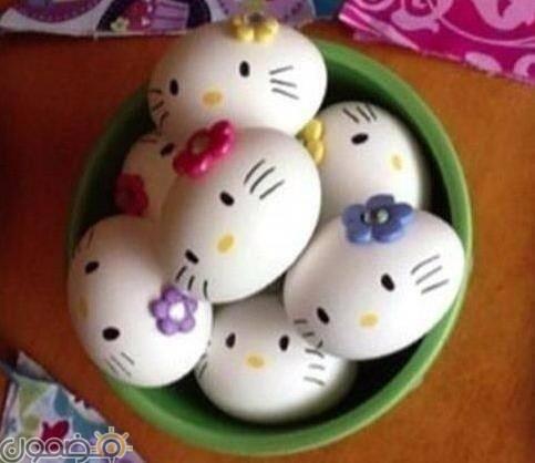 طريقة تلوين بيض شم النسيم 9 طريقة تلوين بيض شم النسيم بطريقة صحية
