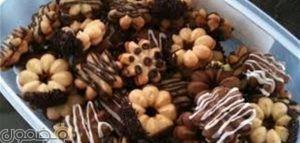 طريقة عمل بيتي فور روعة 300x143 كيفيه تحضير بيتيفور الشوكولاتة والفانيليا