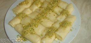عمل حلاوة الجبن السورية 300x143 طريقه عمل حلاوة الجبن السوري