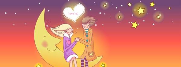 غلاف حب كرتون 2 صور غلاف حب للبروفايلات و للبيدجات و صفحات الفيس بوك