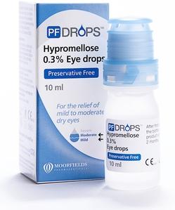 قطرة هيبروميلوز لعلاج حرقان العين