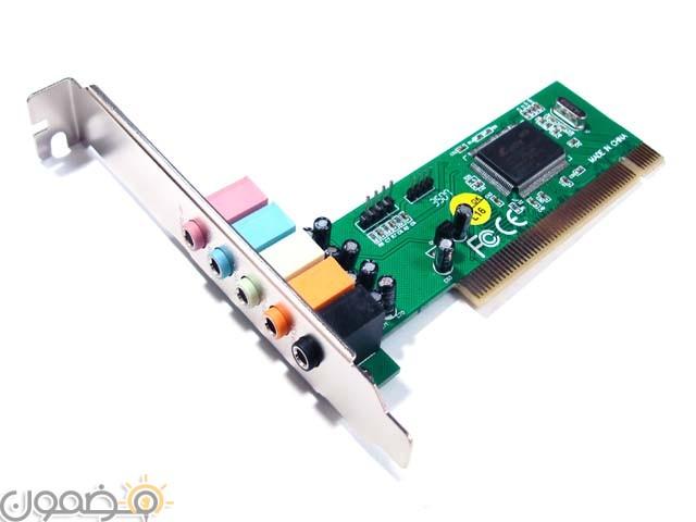 كارت الصوت مكونات الحاسب الالي تعرف على جميع اجزاء الكمبيوتر بالتفصيل