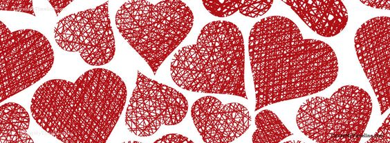 كفرات رومانسية قلوب حمراء صور كفرات رومانسية للفيس بوك مميزة جدا