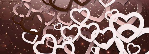 كفرات رومانسية قلوب روعه صور كفرات رومانسية للفيس بوك مميزة جدا