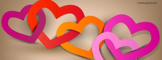 كفرات رومانسية قلوب hd صور كفرات رومانسية للفيس بوك مميزة جدا