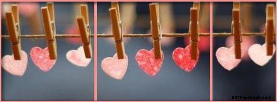 كفرات رومانسية قلوب صور كفرات رومانسية للفيس بوك مميزة جدا