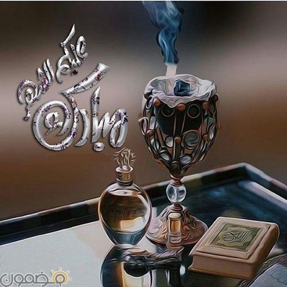مبارك عليكم الشهر الكريم 9 صور مبارك عليكم الشهر الكريم تهنئة رمضان