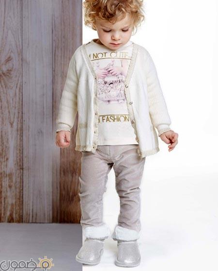 b7e22a21e ملابس اطفال شتوية 8 ملابس اطفال شتوية موضة شتاء 2019