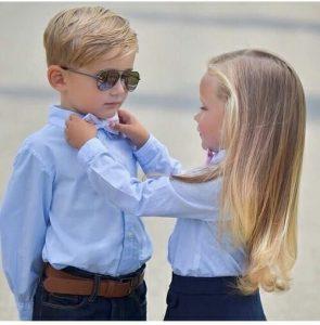 صور اطفال رومانسية 295x300 صور اطفال كيوت جميلة جدا تسر القلب
