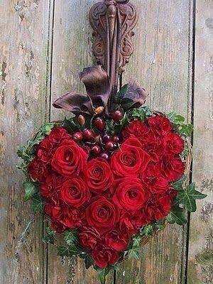 قلب ورد 1 صور قلوب رومانسية للفيسبوك و للتصميم غاية الروعة