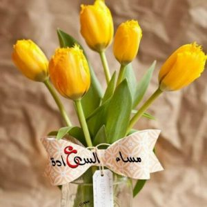 مساء السعادة 300x300 صور مساء الخير الفل الورد للاصدقاء والاحباب