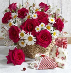 ورد رومانسي 292x300 صور ورد باقات ورود جميلة فيس بوك