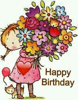 happy birthday flowers بطاقات تهنئة اعياد ميلاد صور Happy birthday